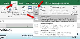 Cara Agar Header Tabel Excel Selalu Tercetak di Setiap Halaman
