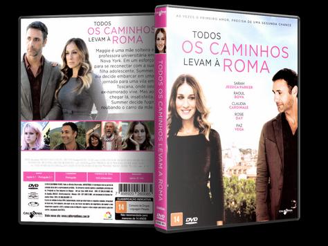 Capa DVD Todos os Caminhos Levam à Roma