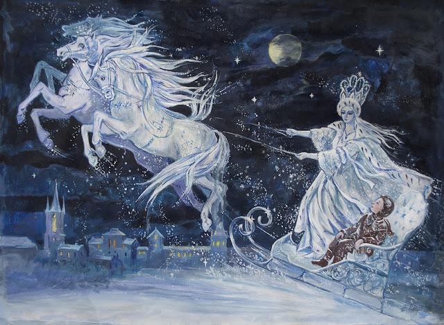 La Reina de las Nieves de Elena Ringo