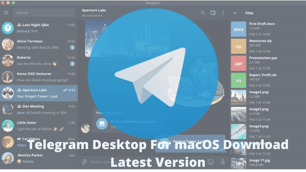 Telegram Desktop For macOS Download Latest Version