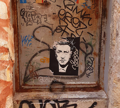 David Lynch street art CINEBLOGYWOOD
