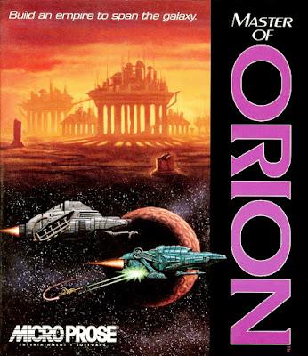 Portada videojuego Master of Orion