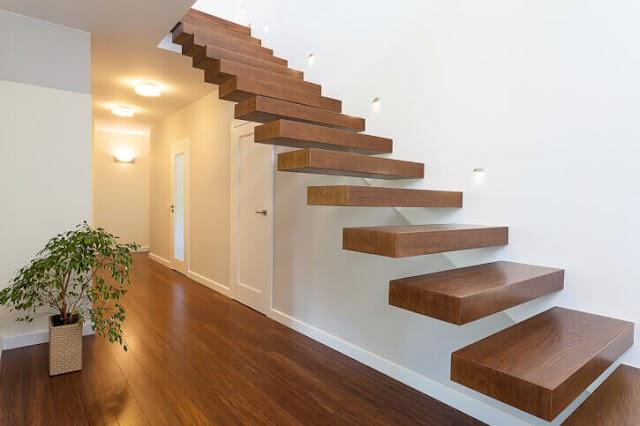 Chia sẻ kinh nghiệm cách thi công bậc thang gỗ toàn khối.