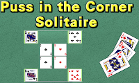 Puss in the Corner Solitaire Game