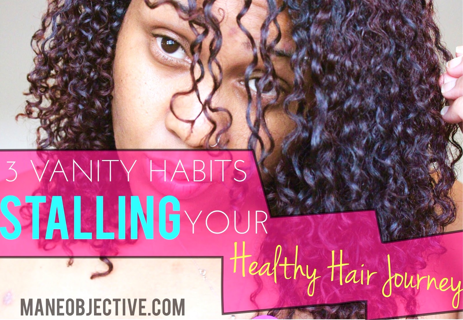 3 Vanity Habits Stalling Your Healthy Natural Hair Journey