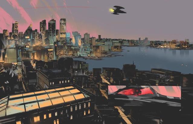 DC anuncia el número 1 de 'Batman: One Dark Knight' de Jock para diciembre.