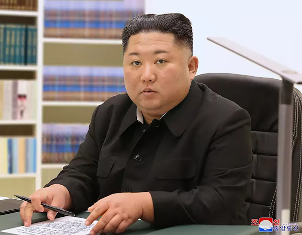 (1) Kim Jong Un Sends Letter to All People on New Year, 2021