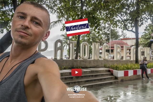 UNWETTER am Patong Beach | PHUKET | Thailand | www.WELTREISE.tv # 205