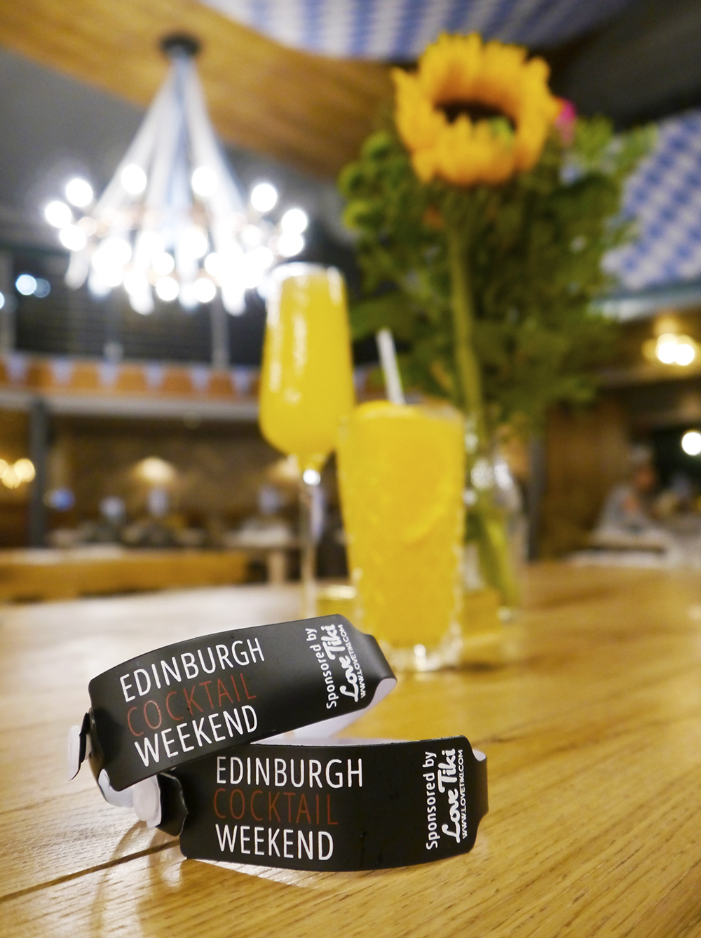 Get your wristbands and enjoy the first Edinburgh Cocktail Weekend with signature drinks at Brewhemia and 49 other cocktail bars