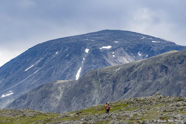 Gjendehøe en Jotunheimen - Noruega por el Guisante Verde Project