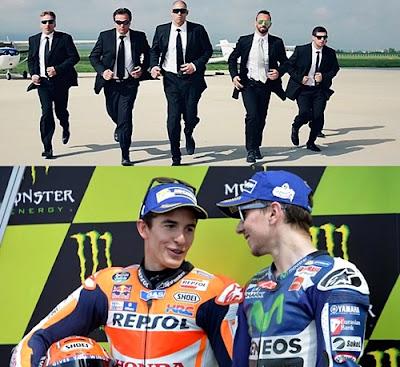 Dorna Siapkan Bodyguard Untuk Lorenzo dan Marquez di GP Italia