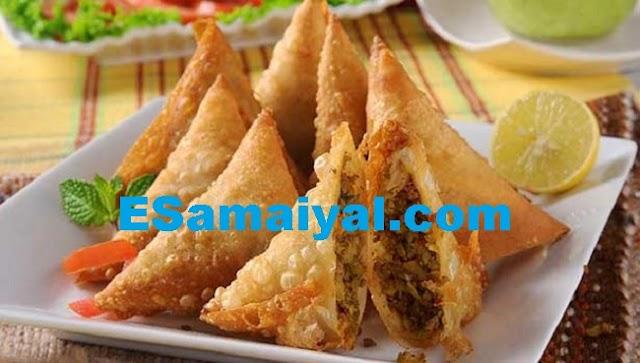 சிக்கன் சமோசா செய்வது | Chicken samosa !