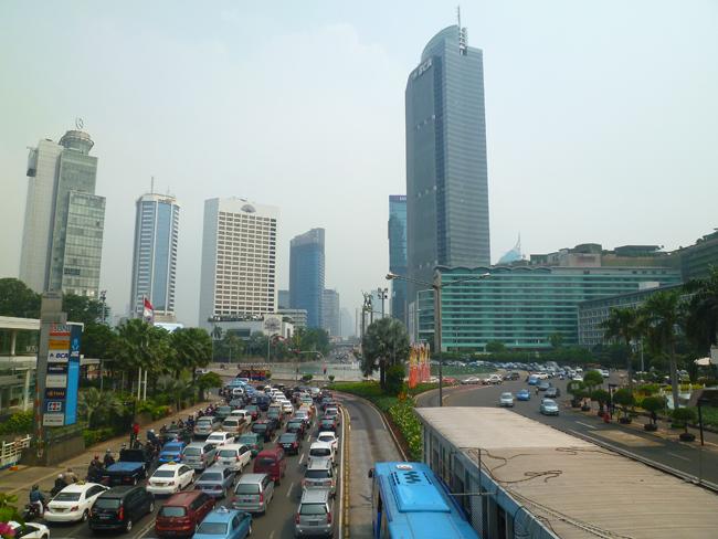 Torre BCA en Jakarta