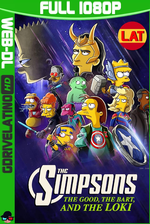 Los Simpson: La buena, el malo y Loki (2021) WEB-DL 1080p Latino-Ingles MKV