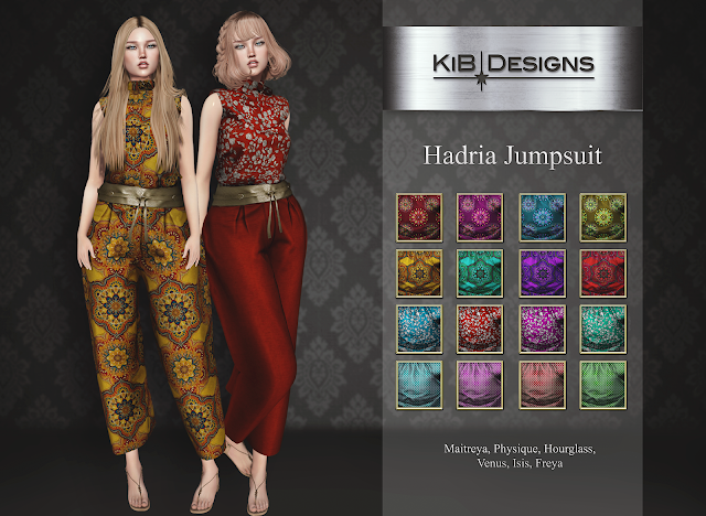 KiB Designs - Handria Jumpsuit @Sense Event