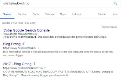 Cara Google Search Bekerja