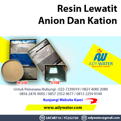 Enam Belas Manfaat Resin | Jual Resin Anion Kation | 0821 2742 3050