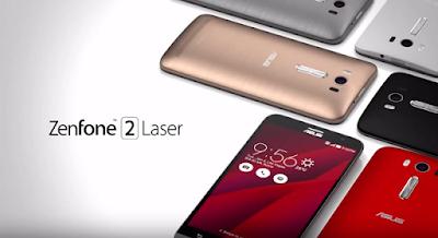 Dien thoai Zenfone 2 Laser chinh hang
