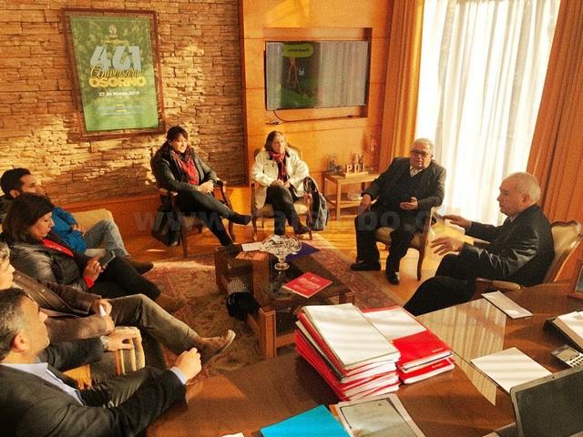 Reunión Alcalde Osorno con Profesores