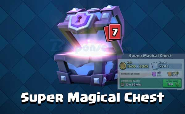 Cara Mendapatkan Giant Chest, Magical Chest, dan Super Magical Chest di Clash Royale