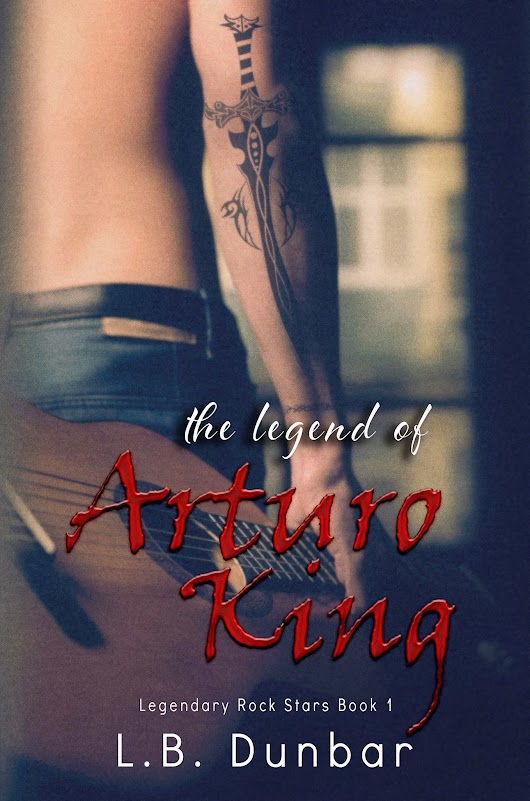 Cover Reveal for The Legend of Arturo King