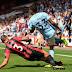 Manchester City wins Bournemouth 2-1