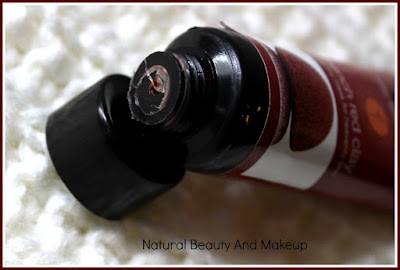 Natural Bath & Body French Red Clay Face Masque Review on the blog Natural Beauty And Makeup