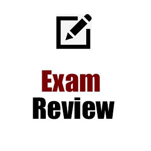 Exam Reviews