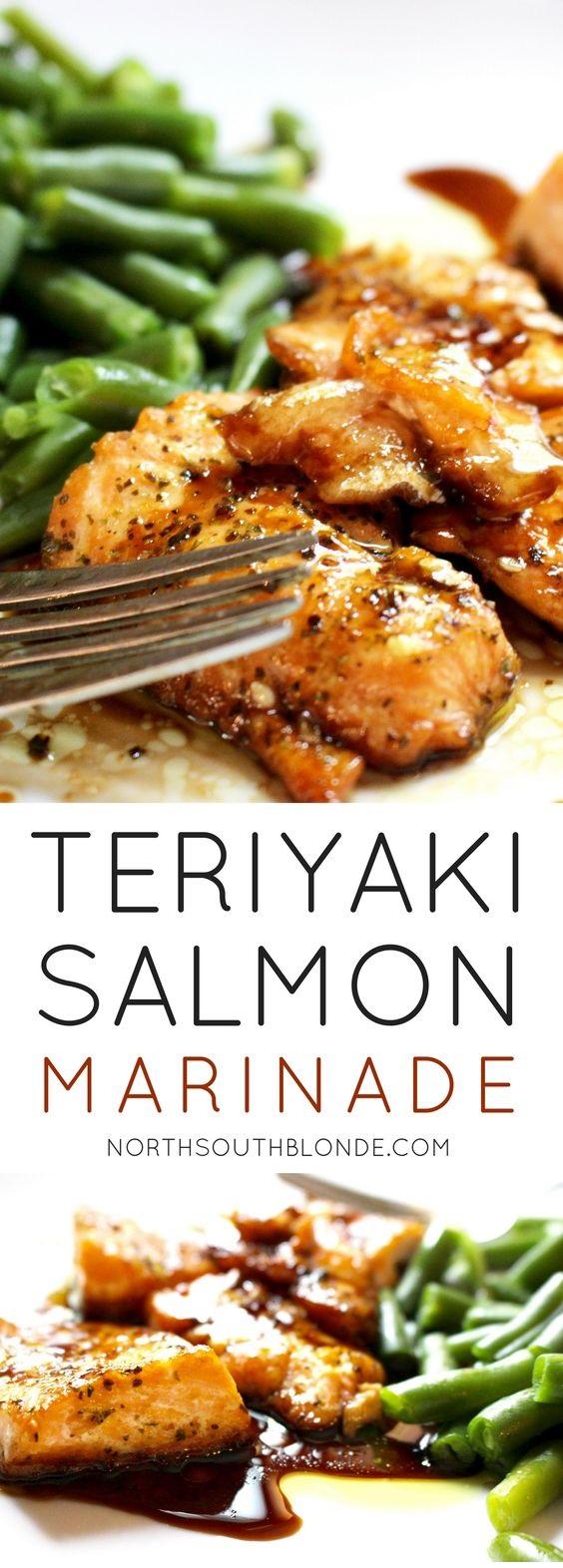 Teriyaki Inspired Salmon Marinade
