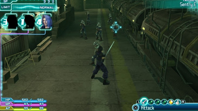 Final Fantasy VII Crisis Core PPSSPP