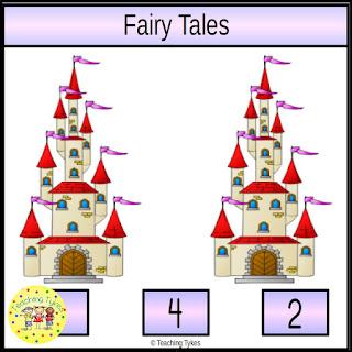 https://www.teacherspayteachers.com/Product/Fairy-Tales-Task-Cards-902917