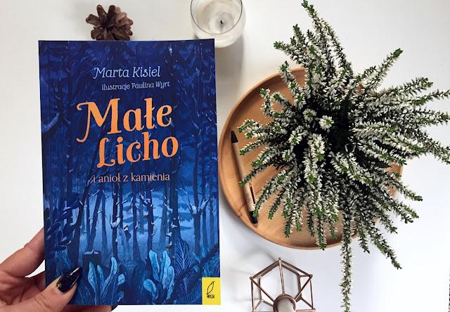 Małe Licho i anioł z kamienia - Marta Kisiel
