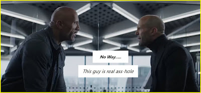 dwayne johnson and jason statham dialogues hobbs shaw