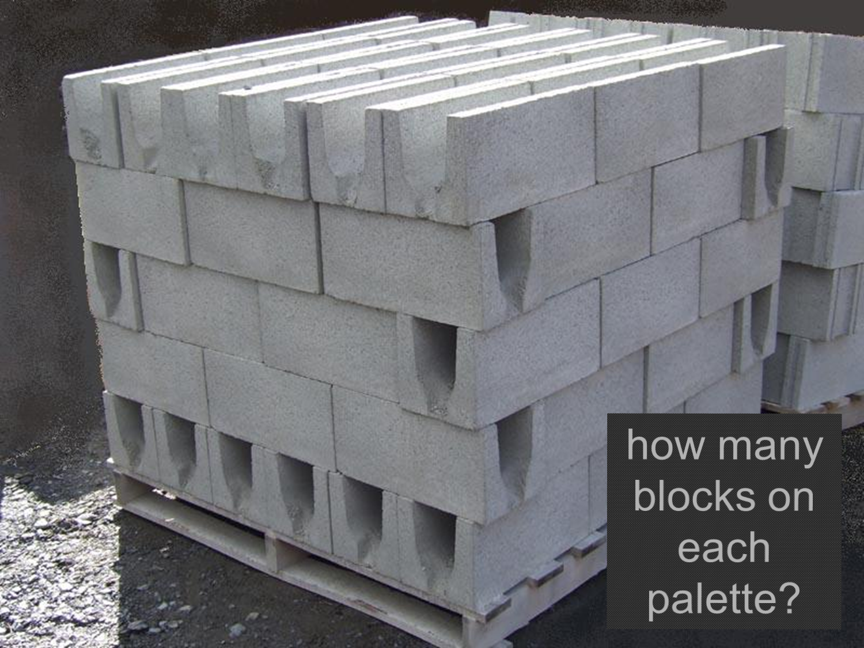 положить блоки цена за куб
