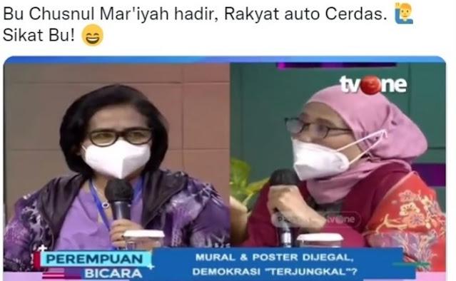 """Politikus Nasdem Kena """"Sikat"""" Bu Chusnul Mar'iyah"""
