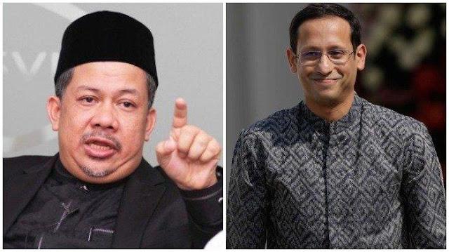 Fahri Hamzah Kritik Nadiem Makarim Soal Pulsa Gratis: Mending Wajibkan TV Siarkan Acara Pendidikan