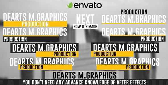 Videohive Text Animation Lower Third 8539723
