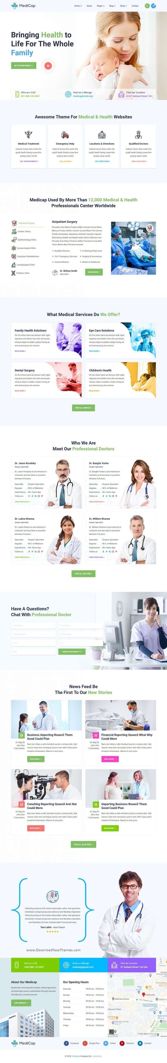 Medical Health & Pregnancy Care Clinic HTML Template