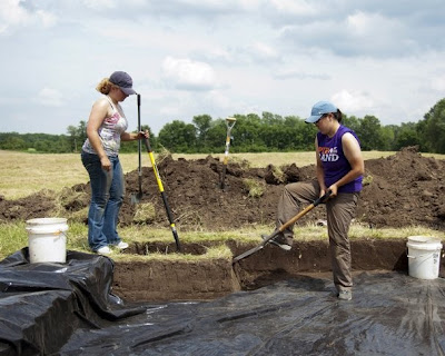 Ancient Indian site in northern Indiana explored
