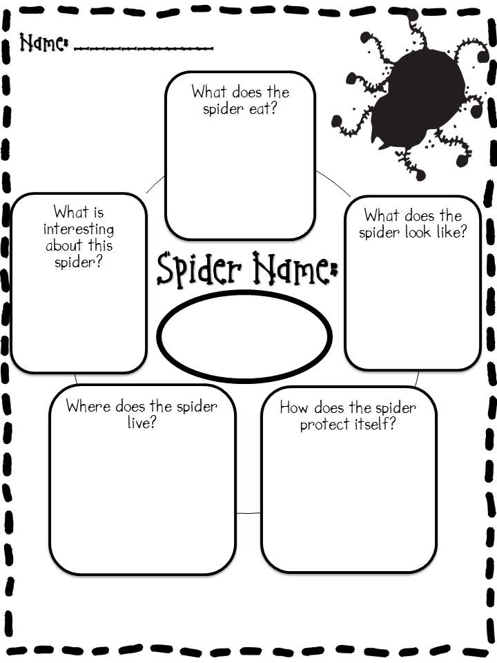 Step into 2nd Grade with Mrs. Lemons: Spider Pics and