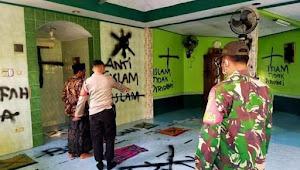Warga Perumahan Villa Tangerang Elok dibuat geger: Musholla di corat-coret, pelaku sudah diamankan