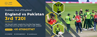 Pak vs Eng 100% T20 3rd Match 100% Sure Today Match Prediction Tips
