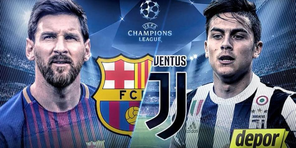 Juventus Vs Barcelona Champions League Team News Match Preview