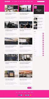 Gooamp Blogger template 2017