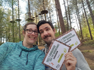 Certificates at the end of Go Ape