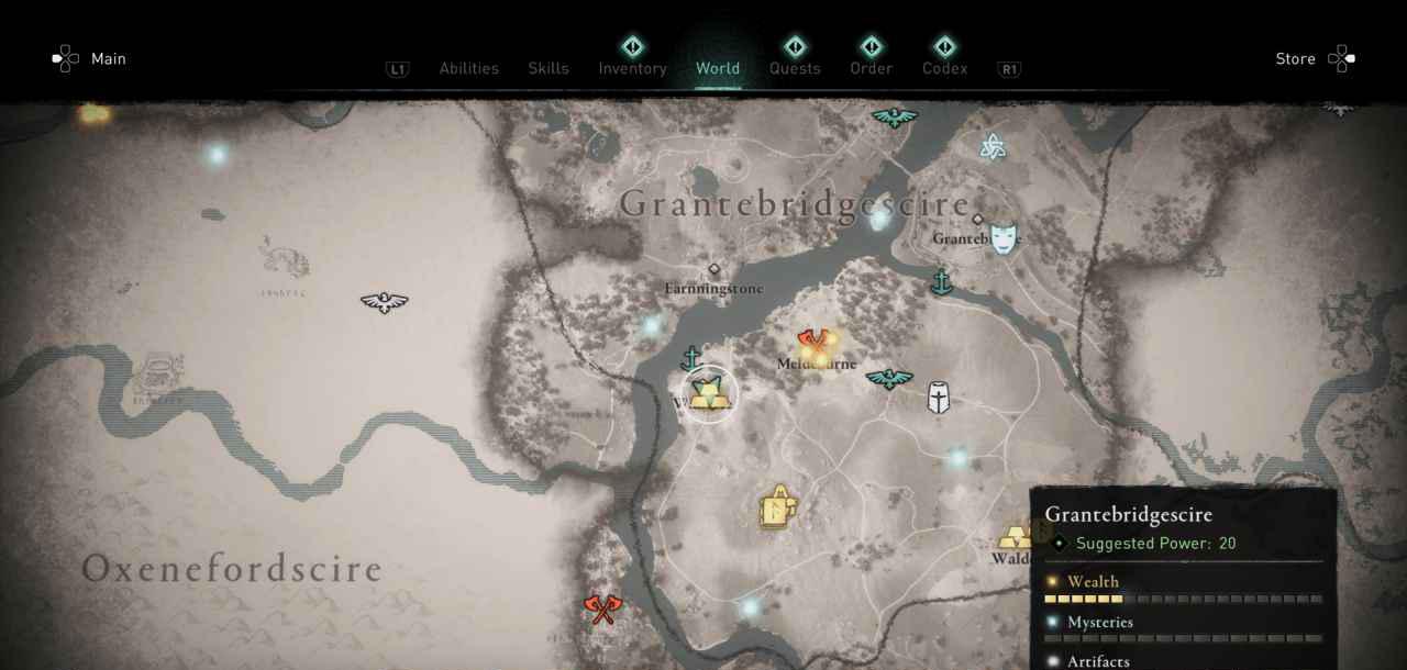 Ingot 29 Map 1