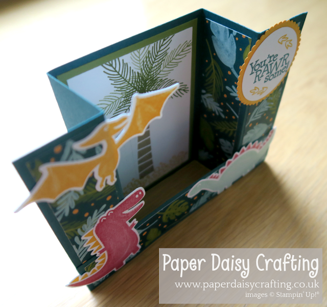 Dino DaysPaper Daisy Crafting Stampin Up