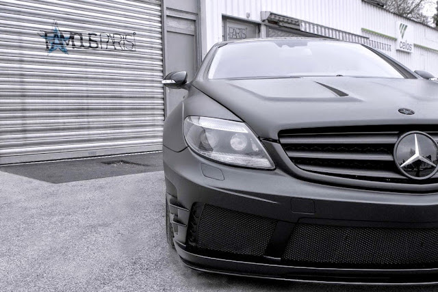 mercedes cl 216 custom