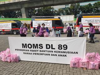 MOM'S DL 89 Dukung Baksos Akabri Kepolisian 1989