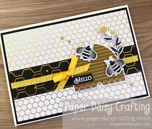 Nigezza Creates with Stampin' Up! and Paper Daisy Crafting & Golden Honey
